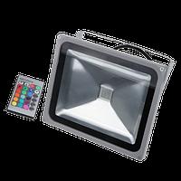 Светодиодный прожектор LEDEX 50W RGB, 120º, IP65, TL11716, Standard