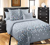 Комплект постельного белья полуторный, перкаль Мозаика