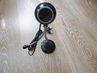 Веб Web камера с USB и микрофоном на ножке