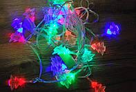 Новогодняя гирлянда Елочки 28 LED 4 метра