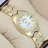 Женские наручные часы Rolex Diamonds Есть 3 Цвета