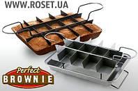 Форма для выпечки пирожных Брауни Perfect Brownie Pan Set