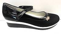 Туфли для девочки на танкетке 32-37 размеры KF0373