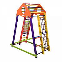 """Детский спортивный комплекс для дома """"BambinoWood Color Plus""""  (SportBaby ТМ)"""
