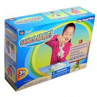 Набор для творчества с мини-песочницей Sands Alive Учимся лепить (25000-SA)