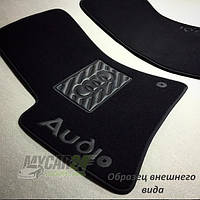 Vip tuning Ворсовые коврики в салон BMW F10 2010р.> без перемычки, по рез. коврам