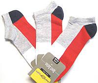 Короткие цветные носки для мужчин