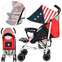 Коляска детская прогулочная Bambi 102-3-4 американский флаг