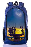 """Подростковый рюкзак """" STTELA"""" (синий), фото 1"""
