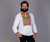 Нарядная вышитая рубашка в этно стиле