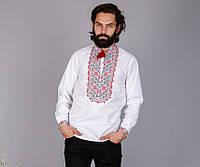 Мужская рубашка с оригинальной вышивкой