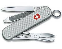 Швейцарский маленький нож Victorinox CLASSIC ALOX 06221.26 серебристый