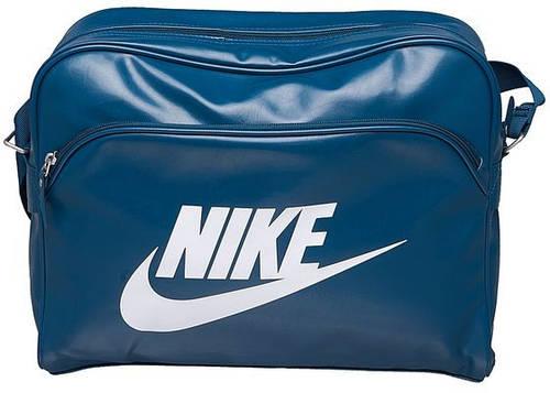 Комфортная спортивная сумка 10 л. HERITAGE SI TRACK BAG NIKE BA4271-346 темно-зеленый