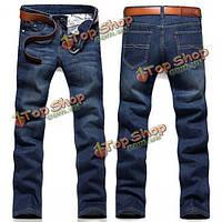 Мужские тонкие джинсы на лето + большие размеры