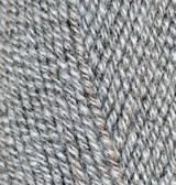 Турецкая пряжа Alize Lanagold полушерсть стальной меланж №651