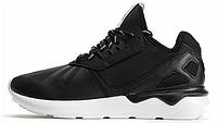 Мужские кроссовки Adidas Tubular Runner, адидас тубулар черные