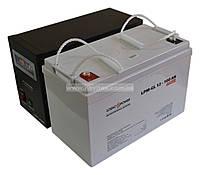 Комплект резервного питания ИБП Logicpower LPY-B-PSW-500 + АКБ LP-GL100