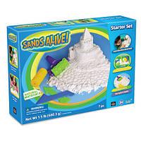 Набор для творчества с мини-песочницей ФАНТАЗЁР песок 680 г аксессуары Sands Alive 230140