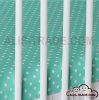 Простынка на резинке в детскую кроватку 120х60