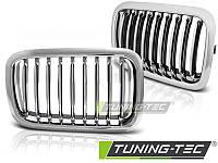 Решетка радиатора ноздри тюнинг BMW E36 хром