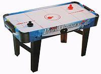 Воздушный хоккей 3005 С: блок питания 220V, счетчик очков, 2 шайбы, 2 толкателя, 85х45х43 см, 4+ лет