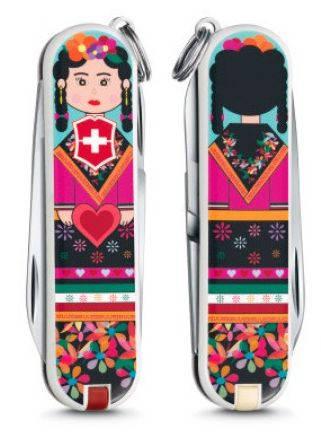 """Подростковый швейцарский нож для девушек Victorinox CLASSIC """"Mexican"""" 06223.L1602 разноцвет"""