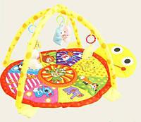 Коврик для детей с игрушками 620: 80х50 см, 4 игрушки, дуги, сумка со змейкой 62х49х7 см