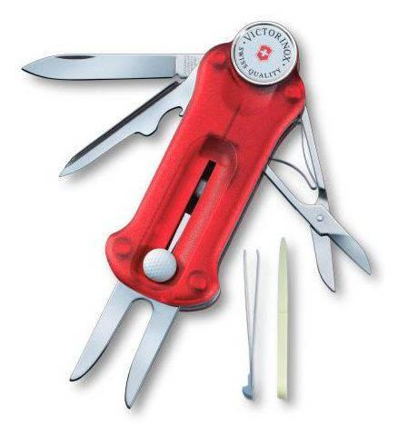 """Мегаклассный швейцарский нож для гольфа Victorinox """"GOLFTOOL"""" 07052.T красный"""