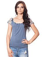 Женская нарядная футболка