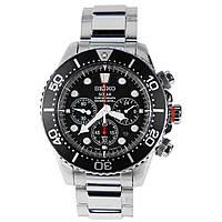 Часы хронограф Seiko Diver's SOLAR  SSC015P1 дайверские