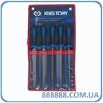 Набор напильников 5 ед. 200 мм 1005GQ King Tony