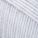 Турецкая пряжа YarnArt Jeans белый №1