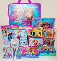 Набор первоклассника для девочки Frozen Холодное сердце 28 предметов