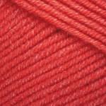 Турецкая пряжа YarnArt Jeans красный №26