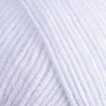 Турецкая пряжа YarnArt Jeans супер белый №62