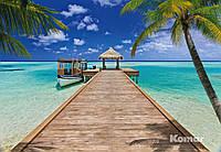 "Фотообои  ""Пляжный курорт"" 368х254 см"