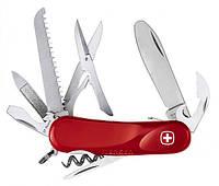 Самый компактный швейцарский перочинный нож Wenger 1 563 59 300 красный