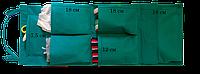 Подвесной органайзер для шкафчика в детский сад Зелёный