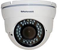 Видеокамера купольная SAV 37 DVP с ИК подсветкой на 2 МП формата AHD