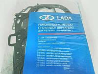 Комплект прокладок ГБЦ ВАЗ 11194 Калина (76.5 мм) дв.1,4; 16 кл. (полный набор)