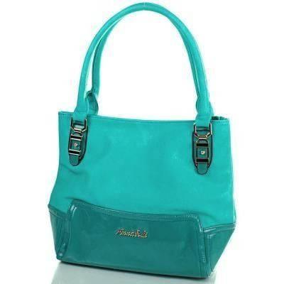 Оригинальная женская сумка из качественного кожезаменителя ANNA&LI (АННА И ЛИ) TUP14075-4 (зеленый)