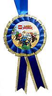 Медаль сувенирная Лего НинзяГо