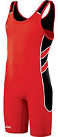 Трико борцовское Asics Wrestling Singlet (JT1154-2390) Red/Black