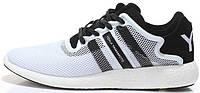 Мужские кроссовки Adidas Y-3 Yohji Yamamoto (адидас) белые