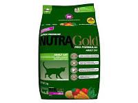 Сухой корм Nutra Gold (Нутра Голд) Hairball control для кошек (выведение волосяных комков) 1 кг