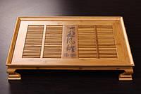 Чайный столик (чабань) , бамбук 50.5 х 36.5 х 8.5см