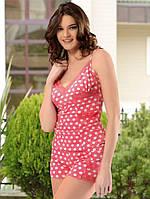 Женская пижама \ костюм для дома в горошек Angel's Story 18065