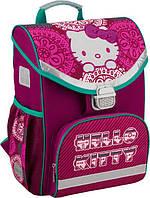 "Ранец ортопедический, 27*14*34 см, светоотражатели, ""Hello Kitty"" Kite"