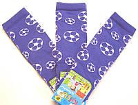 Мальчиковые носки василькового цвета мячи
