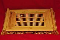 Чабань( чайный поднос) , бамбук 56 х 36 х 8,5 см